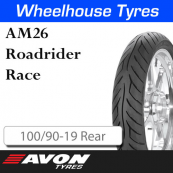 100/90-19 AM26 Medium Race Rear 13760C Avon Roadrider