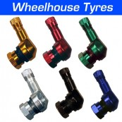 Alloy Angled Motorcycle Valves 11.3mm