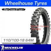 110/100-18 64M Michelin Starcross 5 Soft