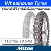 110/100-18 64M Terra Force MX SM TT Rear Mitas (N.H.S)