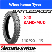 110/90-19 X10 Bridgestone Battlecross Sand/Mud