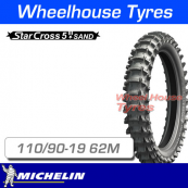 110/90-19 62M Michelin Starcross 5 Sand