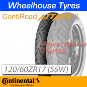 120/60ZR17 (55W) RoadAttack 3 TL Front Continental