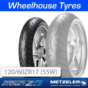 120/60ZR17 (55W) Metzeler Roadtec Z8 Interact