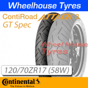 120/70ZR17 (58W) RoadAttack 3 GT TL Front Continental