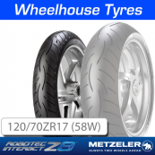 120/70ZR17 (58W) Metzeler Roadtec Z8 (M) Interact