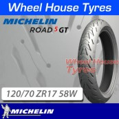 120/70ZR17 (58W) Road 5 GT Michelin T/L