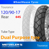 120/90-17 (64S) Metzeler Tourance Tube Type - Rear Tyre (Crossply)