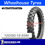 120/90-18 65M Michelin Starcross 5 Soft