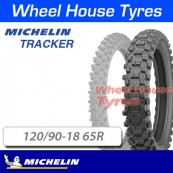 120/90-18 65R Tracker Michelin TT Rear
