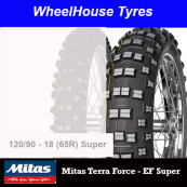 120/90-18 65R EF Yellow Super T/Force Mitas