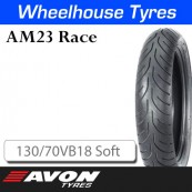 130/70VB18 AM23 Soft Rear Avon Race 11831C