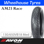 130/650VB18 AM23 Medium Rear Avon Race 14593C