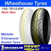 130/70-13 63P Michelin Power Pure SC Reinforced TL Rear