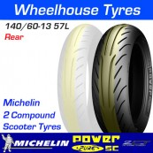 140/60-13 57L Michelin Power Pure SC TL Rear