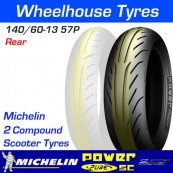 140/60-13 57P Michelin Power Pure SC TL Rear