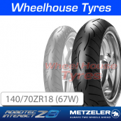 140/70ZR18 (67W) Metzeler Roadtec Z8 Interact