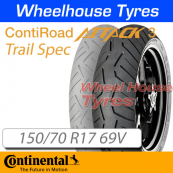 150/70R17 69V RoadAttack 3 TL Continental Rear