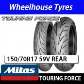 150/70R17 59V Touring Force Mitas TL