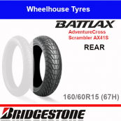 160/60R15 67H AX41S T/L Rear Bridgestone Adventurecross Scrambler