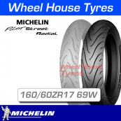 160/60ZR17 69W Michelin Pilot Street Radial Rear T/L