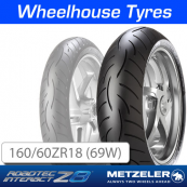 160/60ZR18 (70W) Metzeler Roadtec Z8 (M) Interact