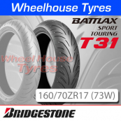 160/70ZR17 (73W) T31 Bridgestone T/L Rear