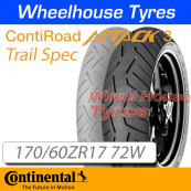 170/60ZR17 72W RoadAttack 3 Trail TL Rear Continental