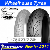 170/60R17 72V Pilot Road 4 Trail Michelin T/L