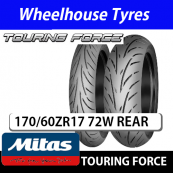 170/60ZR17 (72W) Touring Force Mitas TL