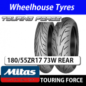 180/55ZR17 (73W) Touring Force Mitas TL