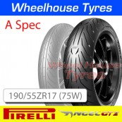190/55ZR17 (75W) A Spec Angel GT 2 TL Rear Pirelli
