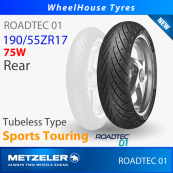 190/55ZR17 (75W) - Roadtec 01 Metzeler T/L - Rear