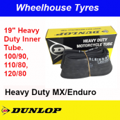 "Dunlop Tube 19"" 100/90, 110/80, 120/80 Heavy Duty MX/Enduro"