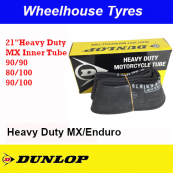 "Dunlop Tube 21"" 90/90, 80/100, 90/100 Heavy Duty MX/Enduro"