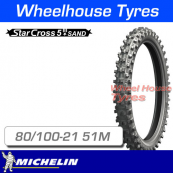 80/100-21 51M Michelin Starcross 5 Sand