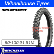 80/100-21 51M Michelin Starcross 5 Soft