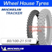 80/100-21 51R Tracker Michelin TT Front