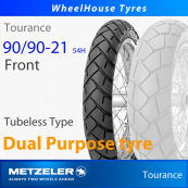 90/90-21 (54H) Metzeler Tourance TL - Front (Crossply)