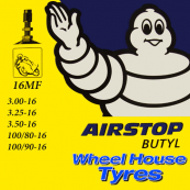 Michelin Tube 3.25, 3.50, 100/80, 100/90-16