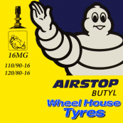 Michelin Tube 110/90, 120/80-16