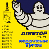 Michelin Tube 4.00,4.60,110/90,120/90,130/80-18