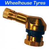 11.3mm Angled Valve Bright Gold