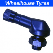 8.3mm Alloy Angled Valve Blue