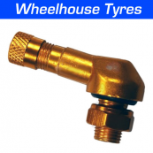 8.3mm Alloy Angled Valve Bright Gold