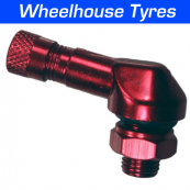 8.3mm Alloy Angled Valve Red