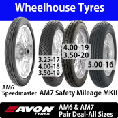 Avon Speedmaster AM6 / Safety Mileage AM7 MKII Pair Deals