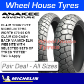 Michelin Anakee Adventure Tyre Pair Deal