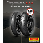 Pirelli Angel GT 2 Motorcycle Tyre Pair Deal - All Sizes (£30 Amazon Gift Card)