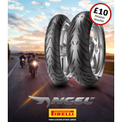 Pirelli Angel ST Motorcycle Tyre Pair Deal (£10 Amazon Gift Card)